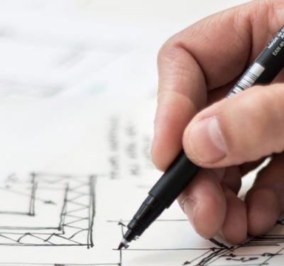 Planung der Hoteleinrichtung